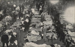 SS Eastland Disaster - Grewsome Scene in Temporary Morgue