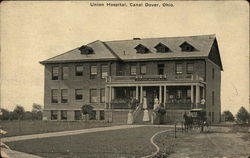 Union Hospital, Canal Dover Postcard