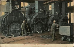 Boilers at Homestake Mine