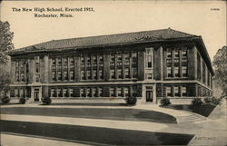 The New High School, Erected 1911