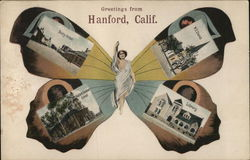 Greetings from Hanford Butterfly Multiview