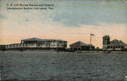 U.S. Life Saving Station and Federal Immigration Station
