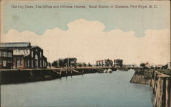 Old Dry Dock, The Office and Officer's Homes