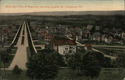 Bird's Eye View of Westmont, showing Luzerne Street