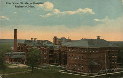 Rear View of St Mary's Hospital
