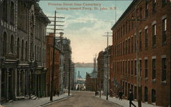 Princess Street From Canterbury Looking Toward Ferry