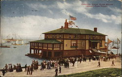 Chicago Yacht Club House (Grant Park Front)