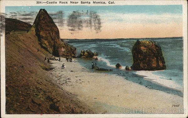 Castle Rock Santa Monica California