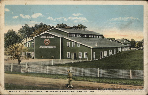 Army YMCA Auditorium, Chickamauga Park Chattanooga Tennessee