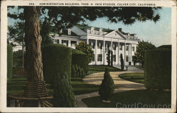 Administration Building, Thos. H. Ince Studios Culver City California