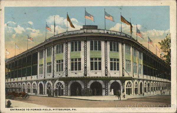 Entrance to Forbes Field Pittsburgh Pennsylvania
