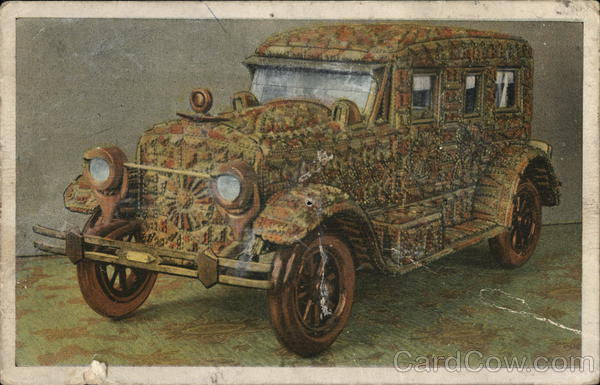 The Wellet Car - Made of Wood Cars