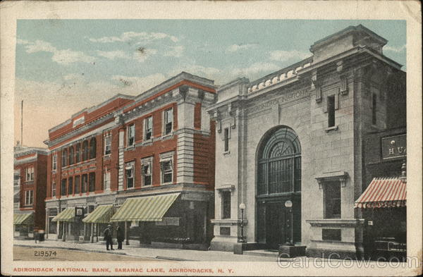 Adirondack National Bank Saranac Lake New York