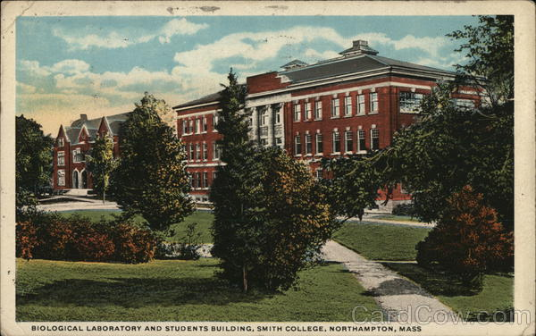 Biological Laboratory and Students Building, Smith College Northampton Massachusetts
