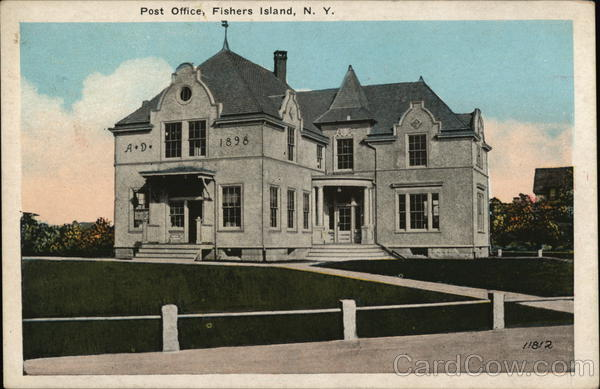 Post Office Fishers Island New York