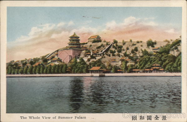 The Whole View of Summer Palace Beijing China
