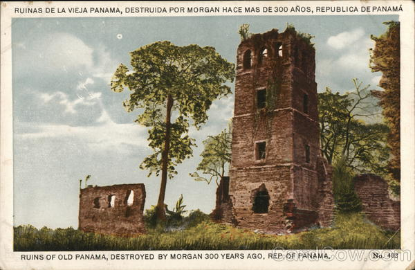 Ruins of Old Panama, Destroyed by Morgan 300 Years Ago, Rep. of Panama