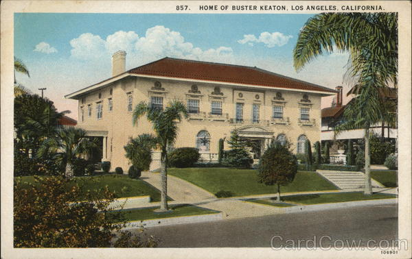 Home of Buster Keaton Los Angeles California