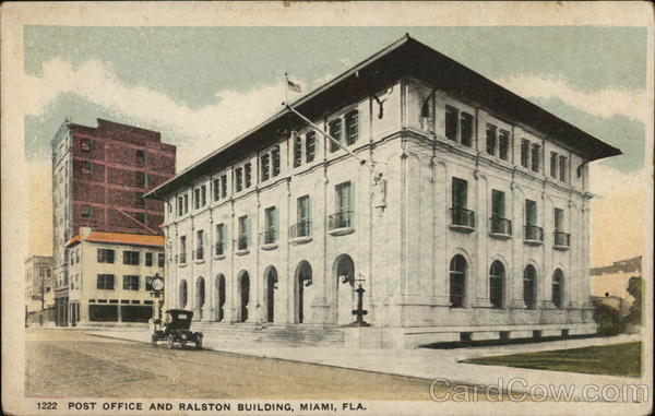 Post Office and Ralston Building Miami Florida