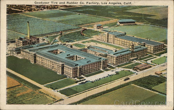 Goodyear Tire and Rubber Co. Factory Los Angeles California