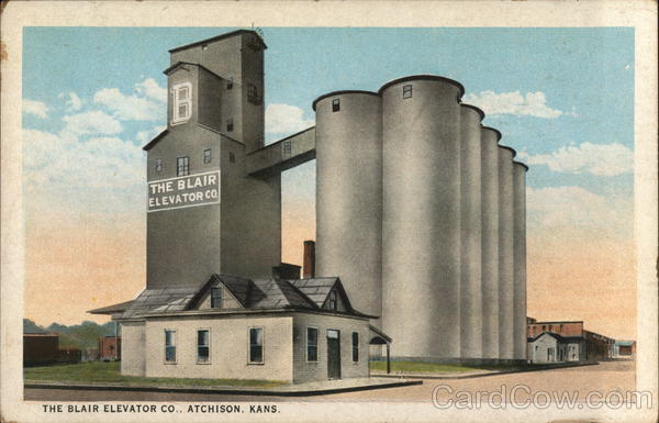The Blair Elevator Company Atchison Kansas