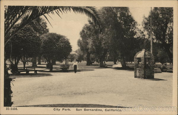 City Park San Bernardino California