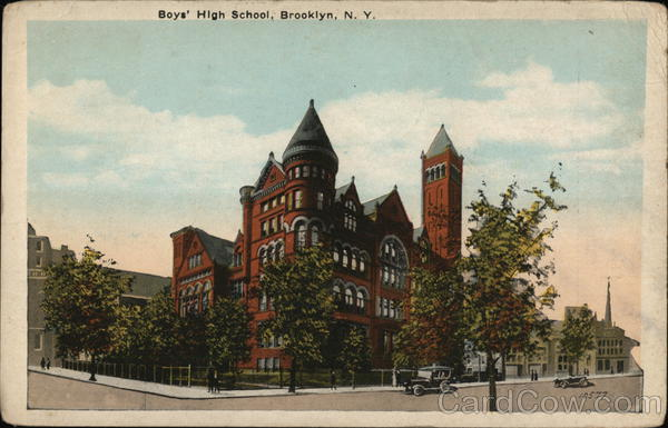Boys' High School Brooklyn New York