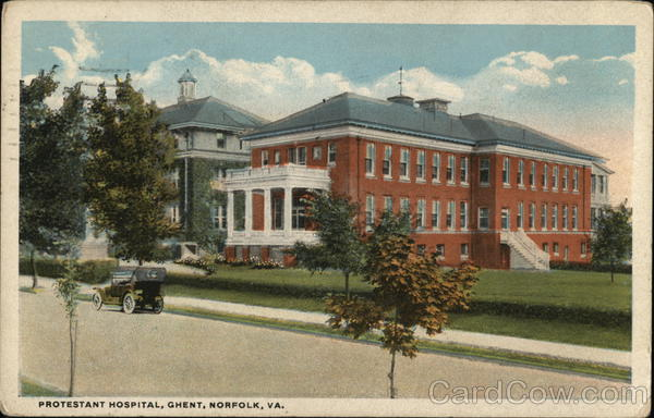 Protestant Hospital, Ghent Norfolk Virginia