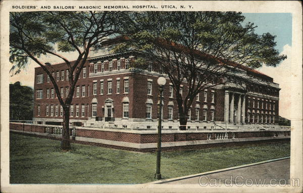 Soldiers and Sailors Masonic Memorial Hospital Utica New York