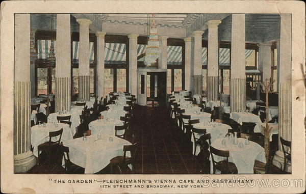 The Garden - Fleischmann's Vienna Cafe and Restaurant New York
