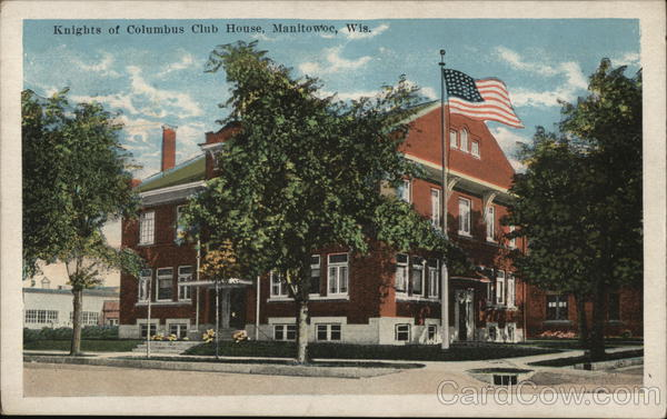 Knights of Columbus Club Home Manitowoc Wisconsin