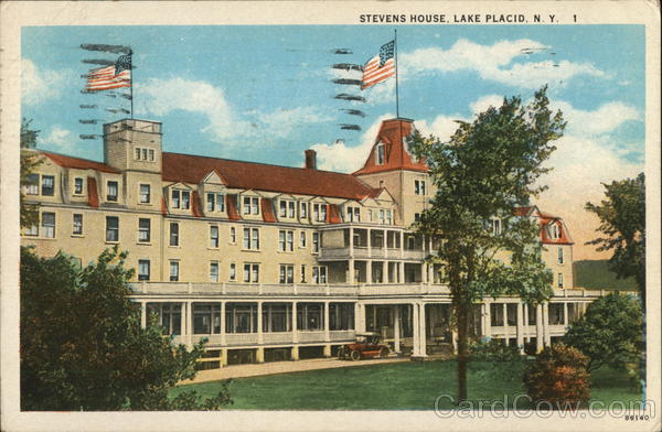 Stevens House Lake Placid New York