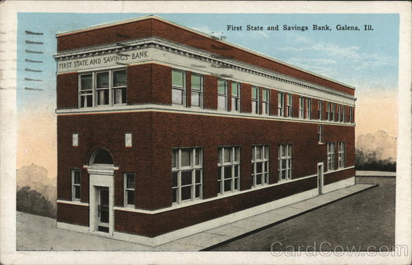 First State and Savings Bank Galena Illinois