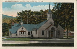 New Congregational Church Postcard