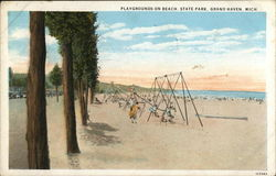Playgrounds on Beach, State Park