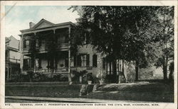 General John C. Pemberton's Headquarters during Civil War