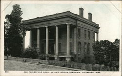 Old Porterfield Home, An Antebellum Residence