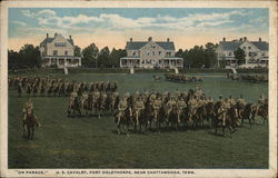 """On Parade"" - US Calvary, Fort Oglethorpe"