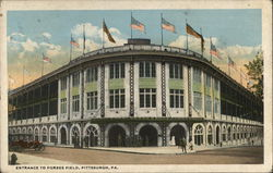 Entrance to Forbes Field
