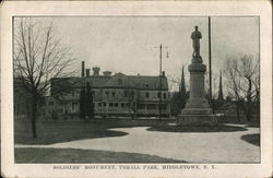 Soldiers' Monument at Thrall Park