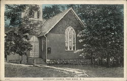 Methodist Church and Grounds Postcard