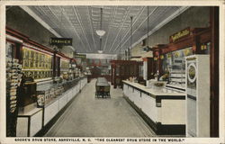 "Goode's Drug Store, ""The Cleanest Drug Store in the World"""