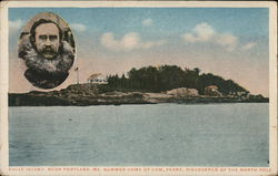 Eagle Island, Near Porland, ME., Summer Home of Com. Peary