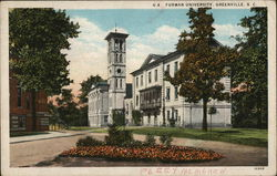 Furman University and Grounds Postcard