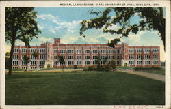 Medical Laboratories, State University of Iowa