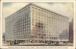 Marshall Field & Company Retail Store, State, Washington, Randolph and Wabash Sts