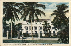 Whitehall - Residence of the late HM Flagler