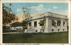 City Hall and Carnegie Library