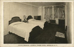 Typical Bedroom, Leverich Towers Hotel
