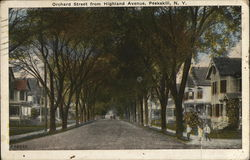 Orchard Street from Highland Avenue